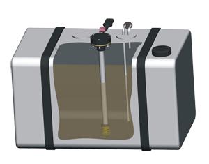 датчик уровня топлива (ДУТ)