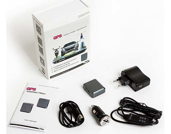 Комплектность GPS трекера F800