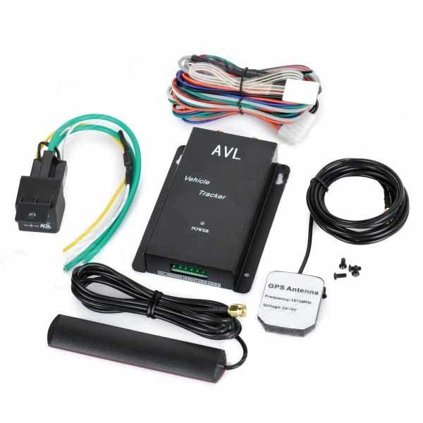 Комплектность GPS трекера AVL