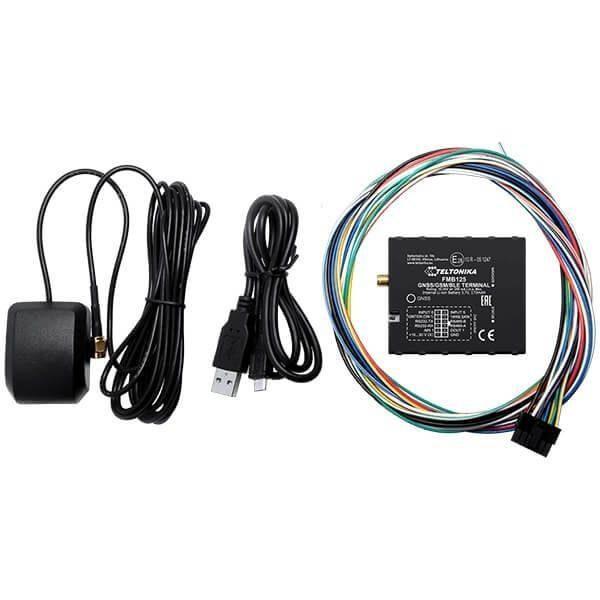 Комплектность GPS трекера FMB125