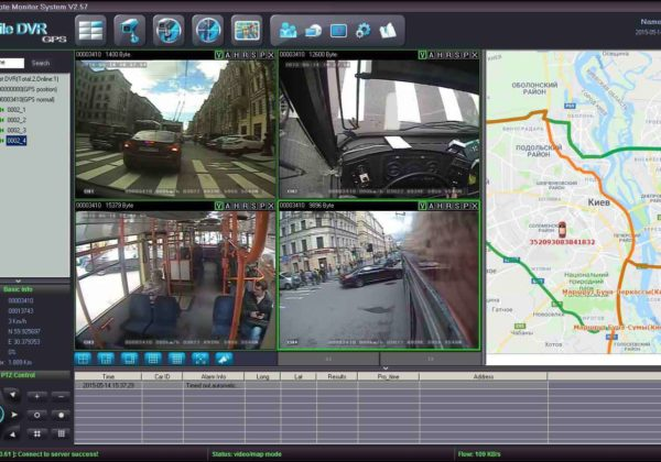 Видеомониторинг транспорта