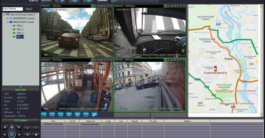 Програма видео мониторинга на экране компьютера