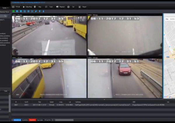 Видеонаблюдение на транспорт