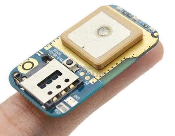 GPS трекер 612 - очень миниатюрный на палец