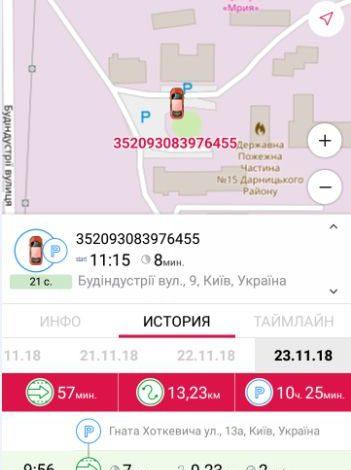 Мобильное приложение для отслеживания транспорта