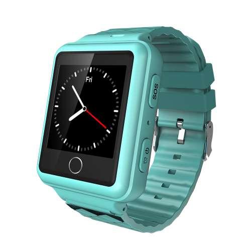 Синие смарт часы с GPS